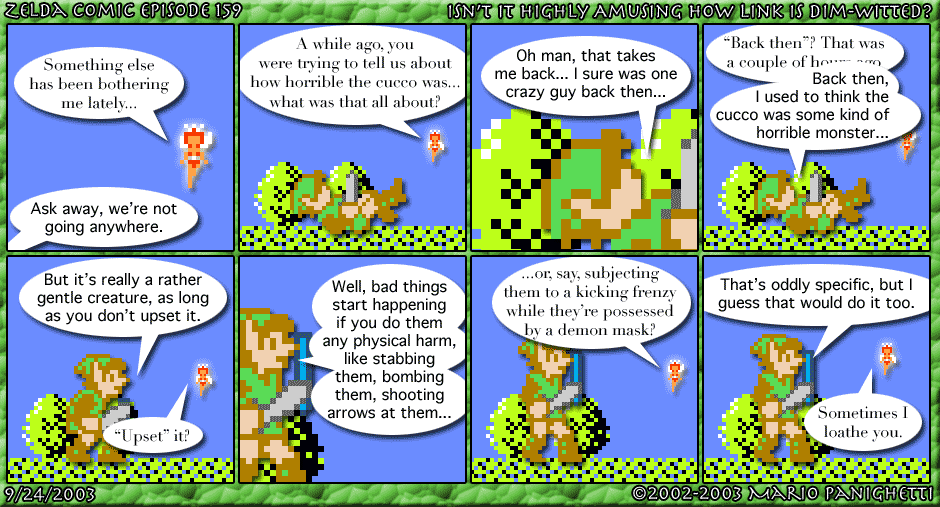 Episode 159: Isn't It Highly Amusing How Link Is Dim-Witted?