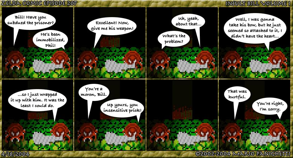Episode 207: Insult Bill Volume 1