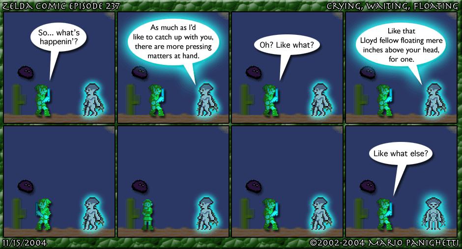 Episode 237: Crying, Waiting, Floating