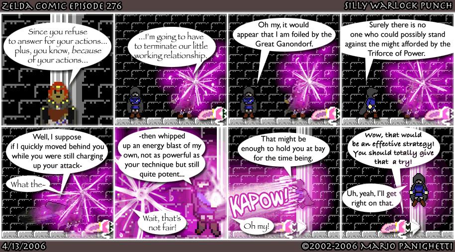 Episode 276: Silly Warlock Punch