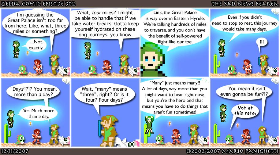 Episode 302: The Bad News Bearer